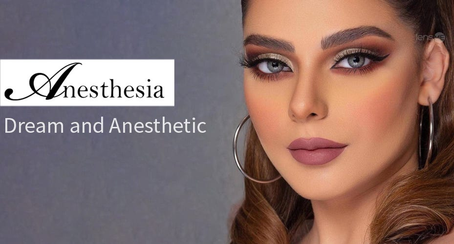 Anesthesia Dream Colored Contacts