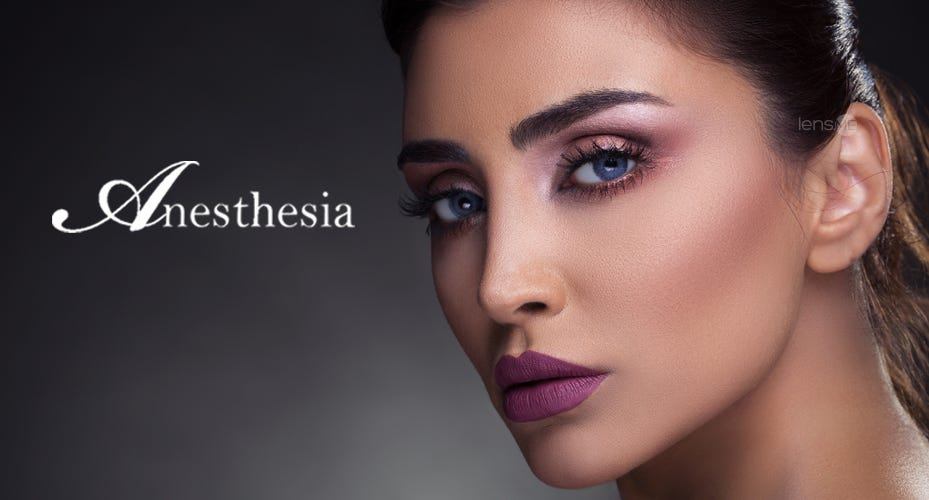 Anesthesia Colored Contacts