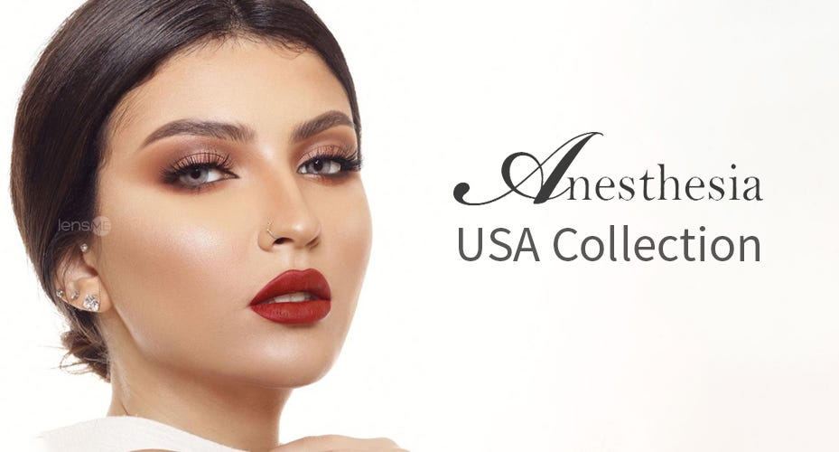 Anesthesia USA Colored Contacts