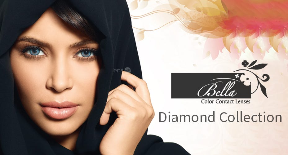 Bella Diamond Colored Contacts