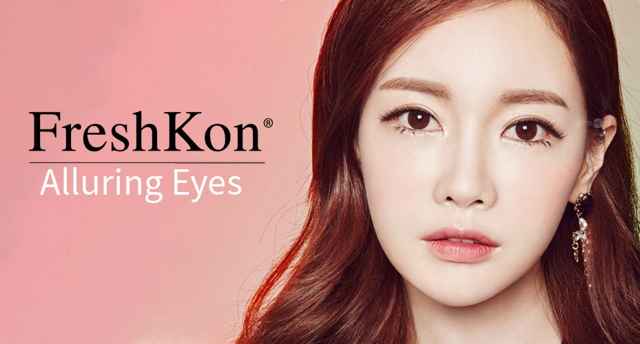Freshkon Alluring Eyes Colored Contacts