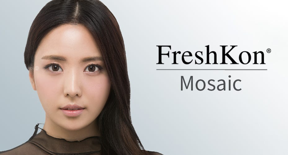Freshkon Mosaic Colored Contacts