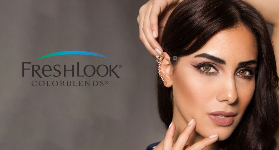 Freshlook Colorblends  Colored Contacts
