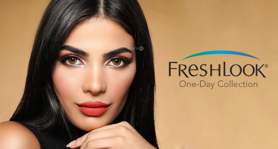 Freshlook One-Day Colored Contacts