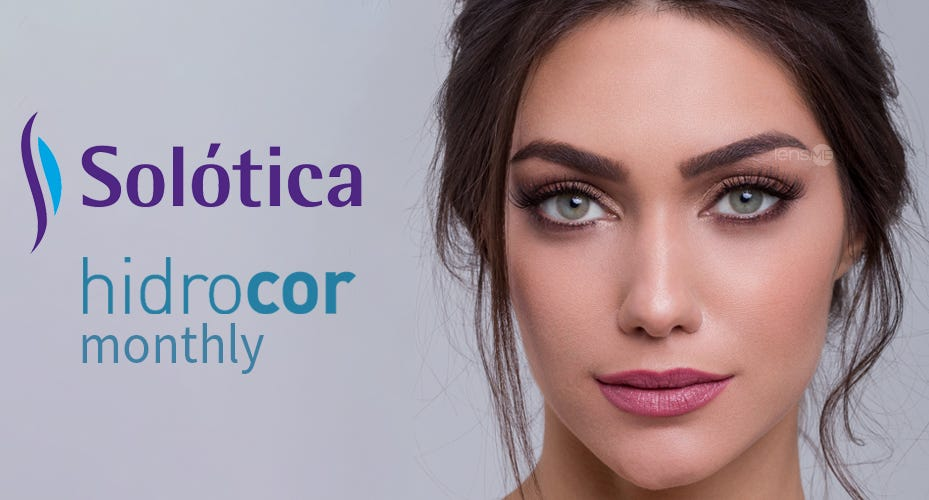 Solotica Hidrocor Monthly Colored Contacts