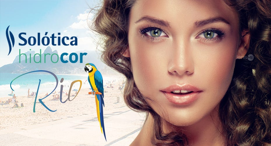 Solotica Hidrocor Rio Colored Contacts