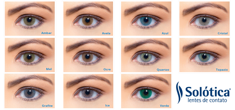 Solotica Hidrocharme Colored Contact Lenses