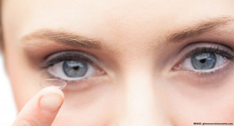 See Brands of Clear Contact Lenses