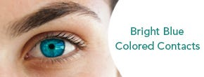 Which bright blue colored contacts are best for brown eyes?