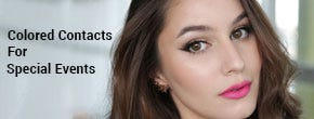 Your Guide To Colored Contacts For Special Events This Autumn