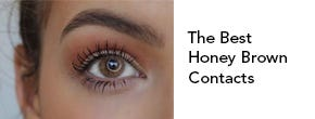 Honey Brown Colored Contacts
