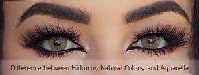 What is the difference between Solotica Hidrocor, Solotica Natural Colors and Solotica Aquarella?